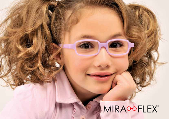 Gyerek Miraflex törhetetlen szemüvegkeret  3b3298c479